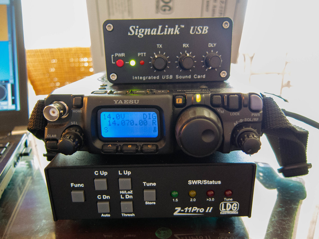ham amateur radio setup