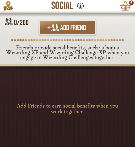 harry potter wizards unite - share friend code