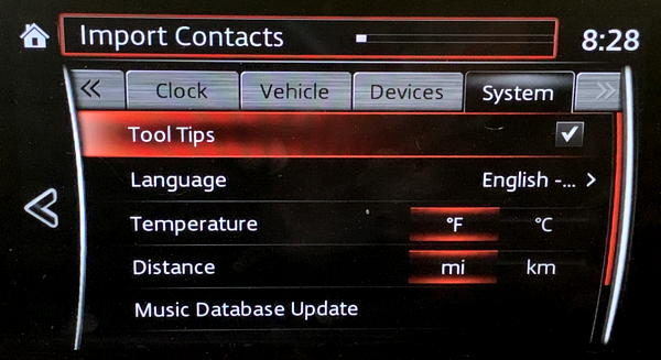 mazda infotainment - update gracenote database - 1