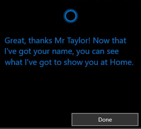 cortana: I will call you by this name