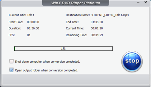 winx dvd ripper platinum ripping dvd speed progress bar