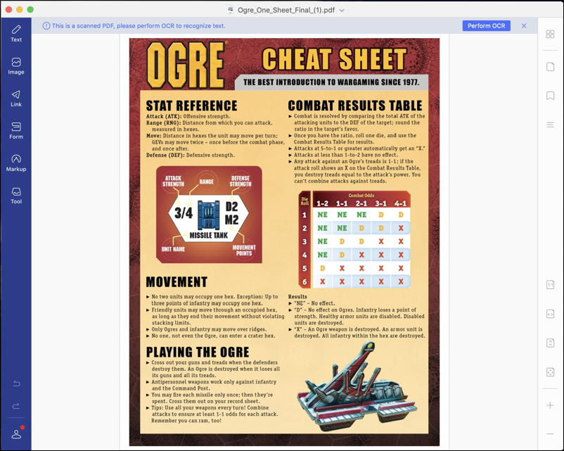 wondershare pdfelement 7.0 - ogre cheat sheet PDF