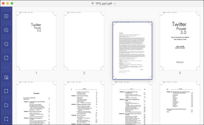 reorder pages pdf document pdfelement 7 mac