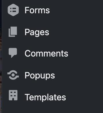 wordpress dashboard - comments