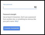 change update new gmail password passwd