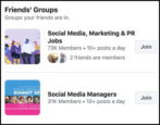 facebook groups - find discover join fun