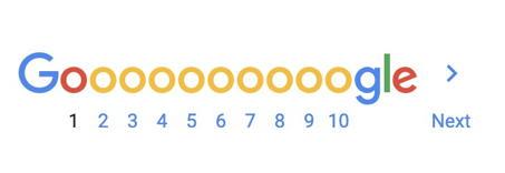 google search results goooooogle