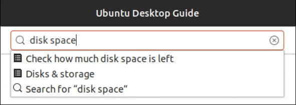 ubuntu linux - help search for disk space