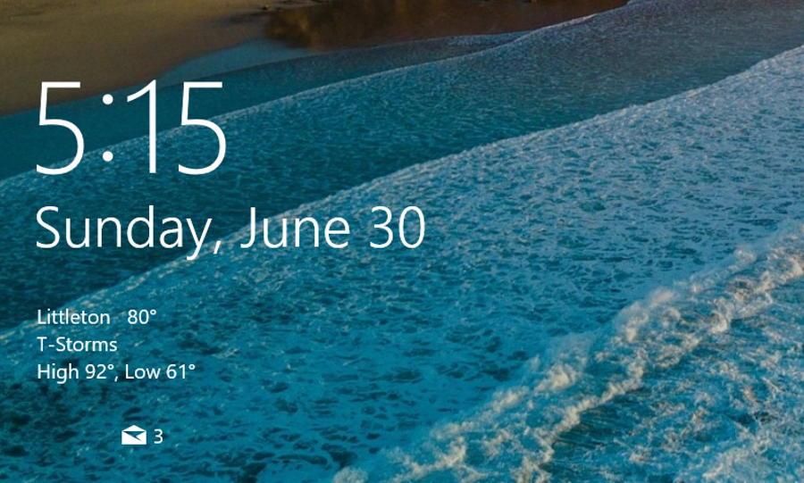 littleton colorado weather forecast - windows 10 login screen