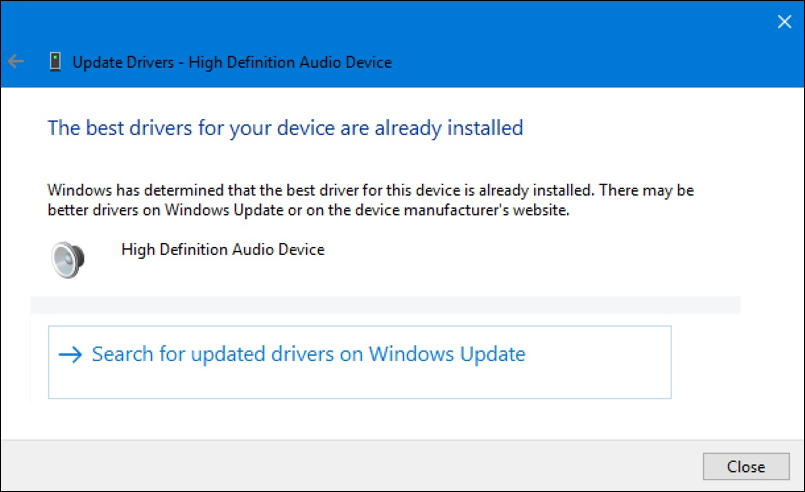 win10 device driver up to date
