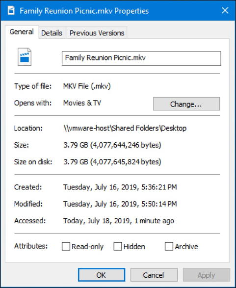 win mkv video file - windows 10 - mkv