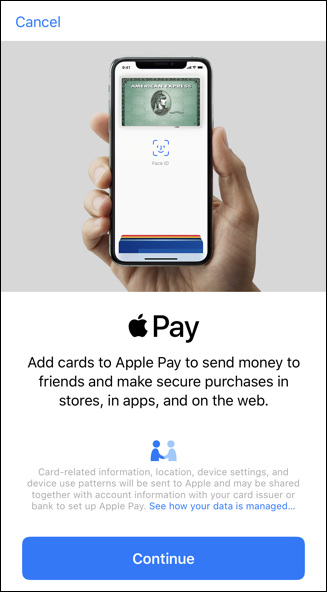 apple wallet - iphone - add apple pay