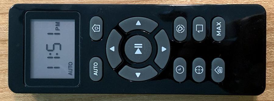 deenkee dk600 robot vacuum - remote control