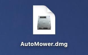 dmg disk image icon - macos x