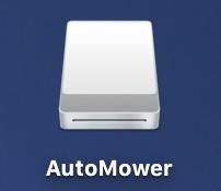 virtual disk - external drive - icon mac macos x