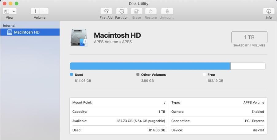 mac apple disk utility