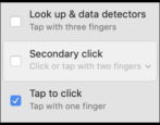 macos x trackpad settings preferences system click tap