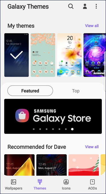 galaxy themes - theme free download update new