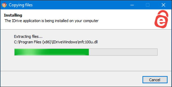 idrive for windows 10 win10 downloading