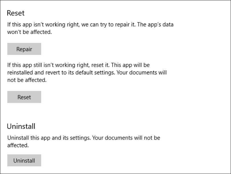 windows itunes - reset repair