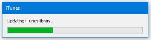 rebuild itunes music database - windows 10