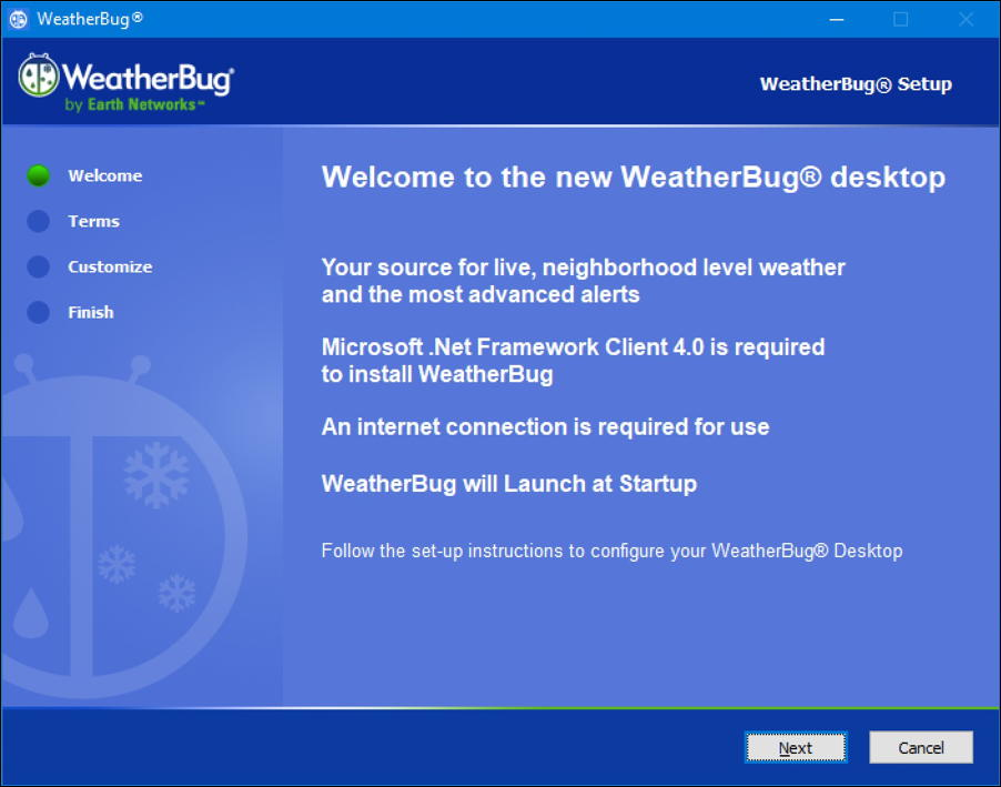 weatherbug installer