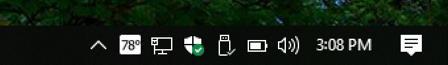 weather on taskbar - win10 windows 10 - weatherbug