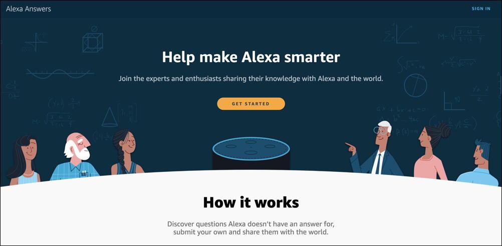 alexaanswers web site