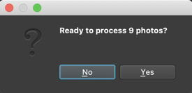 mac batchphoto ready to process?