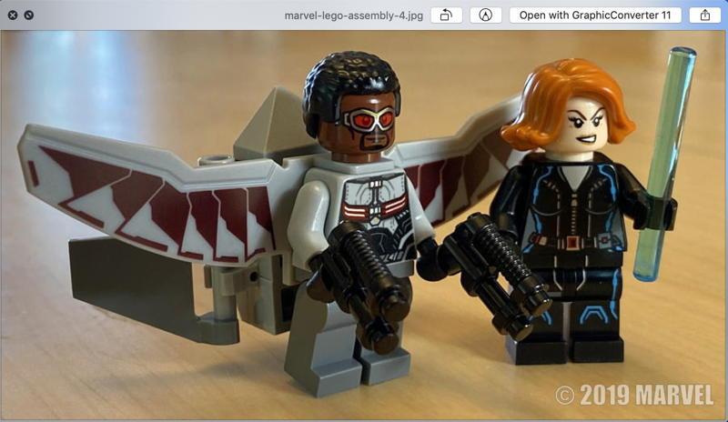 mac batchphoto lego marvel minifigs demo example