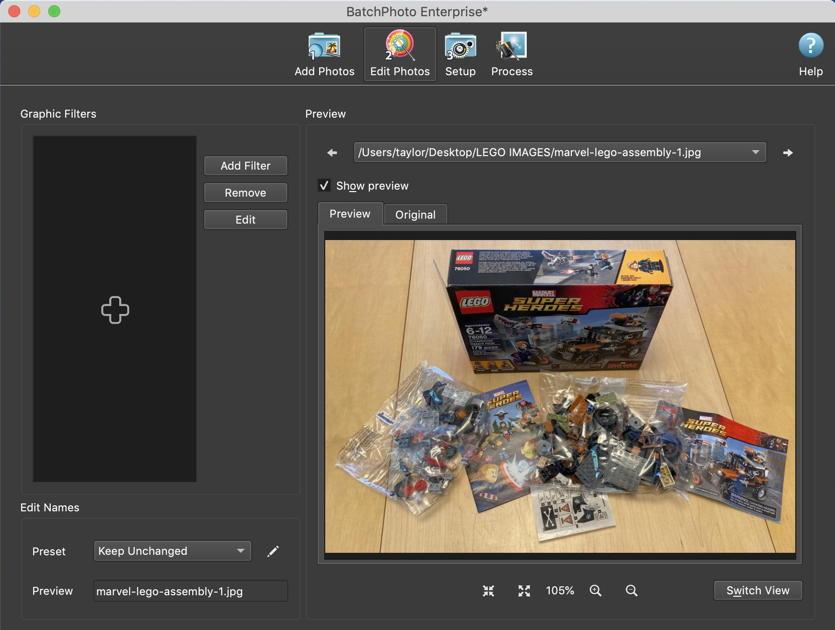mac batchphoto edit photo