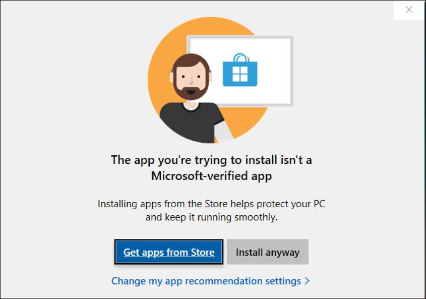 windows 10 win10 install third party program software app not from microsoft store