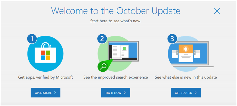 windows 10 win10 update complete new features