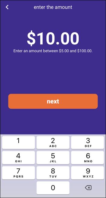 giftya gift card - specify amount