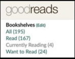 write book reviews - goodreads