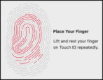 macbook pro touch id fingerprint sensor unlock biometrics
