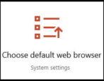 change update default web browser win10 windows 10