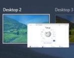 windows 10 virtual desktop - task view - win10