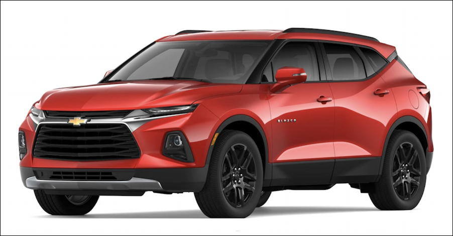 2019 chevy blazer red hot