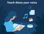 teach alexa amazon echo your voice