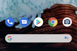 android main app icons