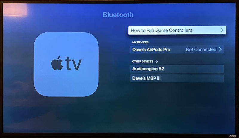 appletv settings configuration remotes