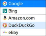 firefox linux change default search engine duckduckgo