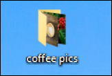 win10 coffee pics folder icon