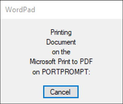 windows 10 - win10 print to pdf