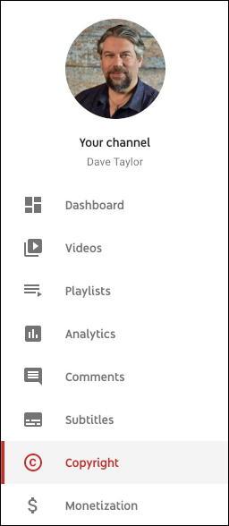 youtube creator studio menu