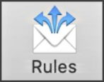 apple mail mac - create email rules filters how to