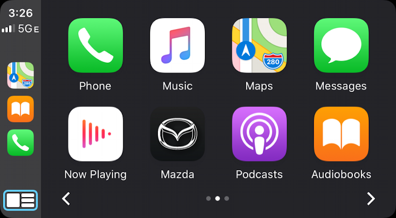 apple carplay screen capture screenshot