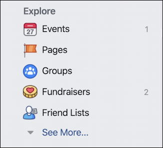facebook - friend lists