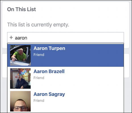 add someone to facebook restricted list